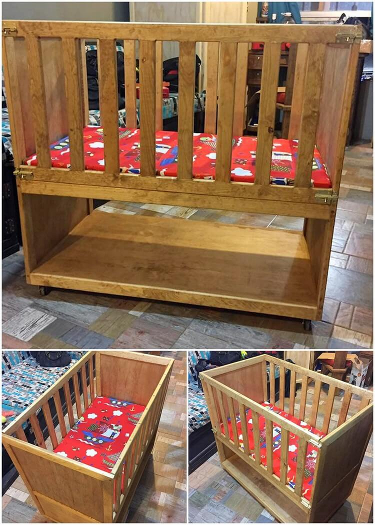 Pallet Baby Bed