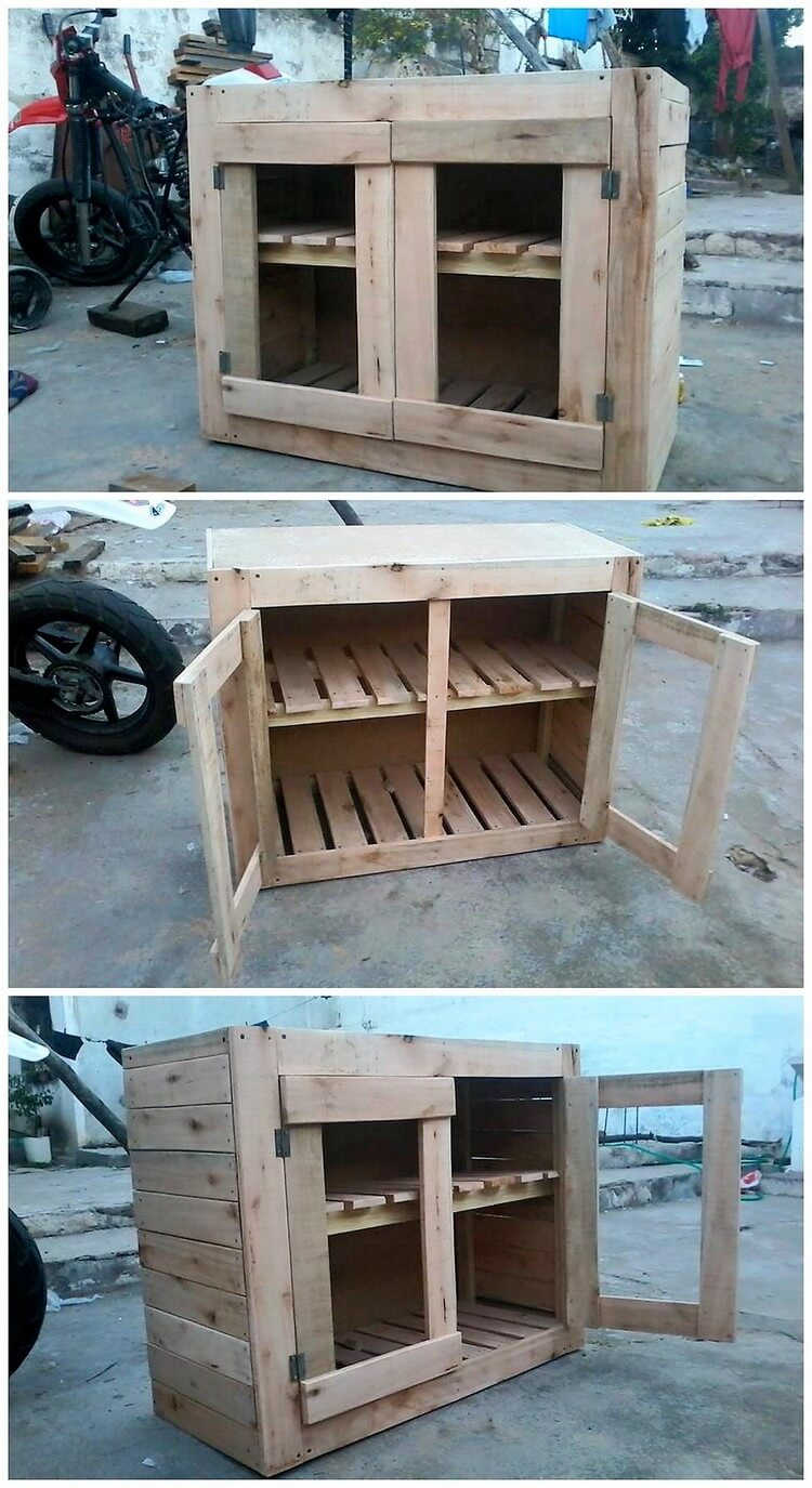 Cool and Easy DIY Projects Made with Old Wooden Pallets ...