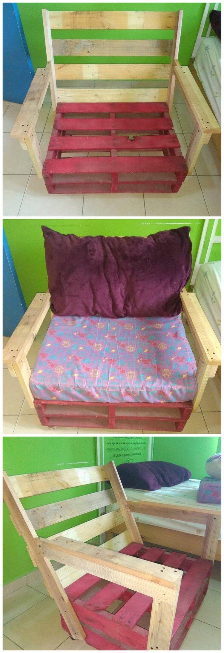 Pallet Comfy Chair