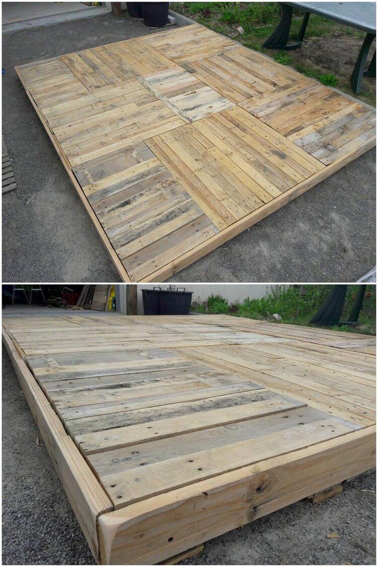 Pallet Deck Idea