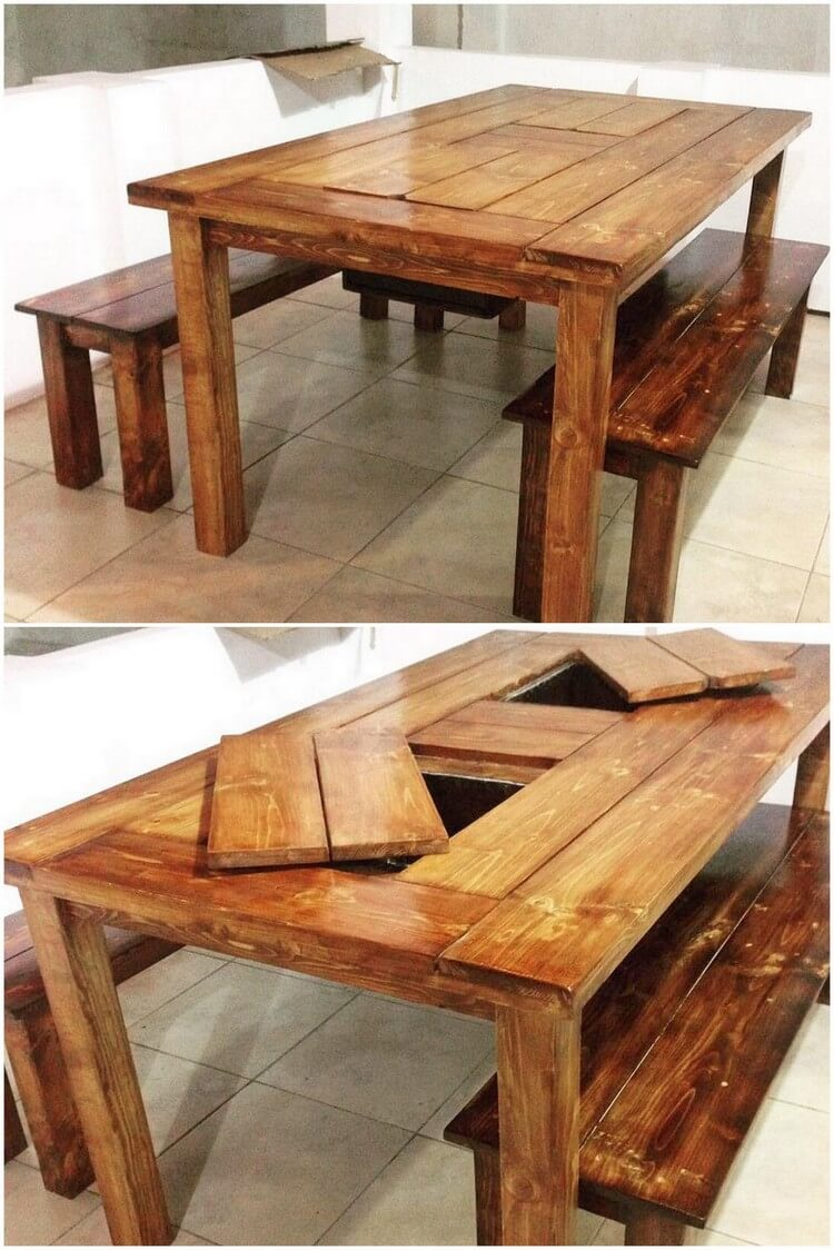 Interesting Diy Ideas With Recycled Wood Pallets Pallet