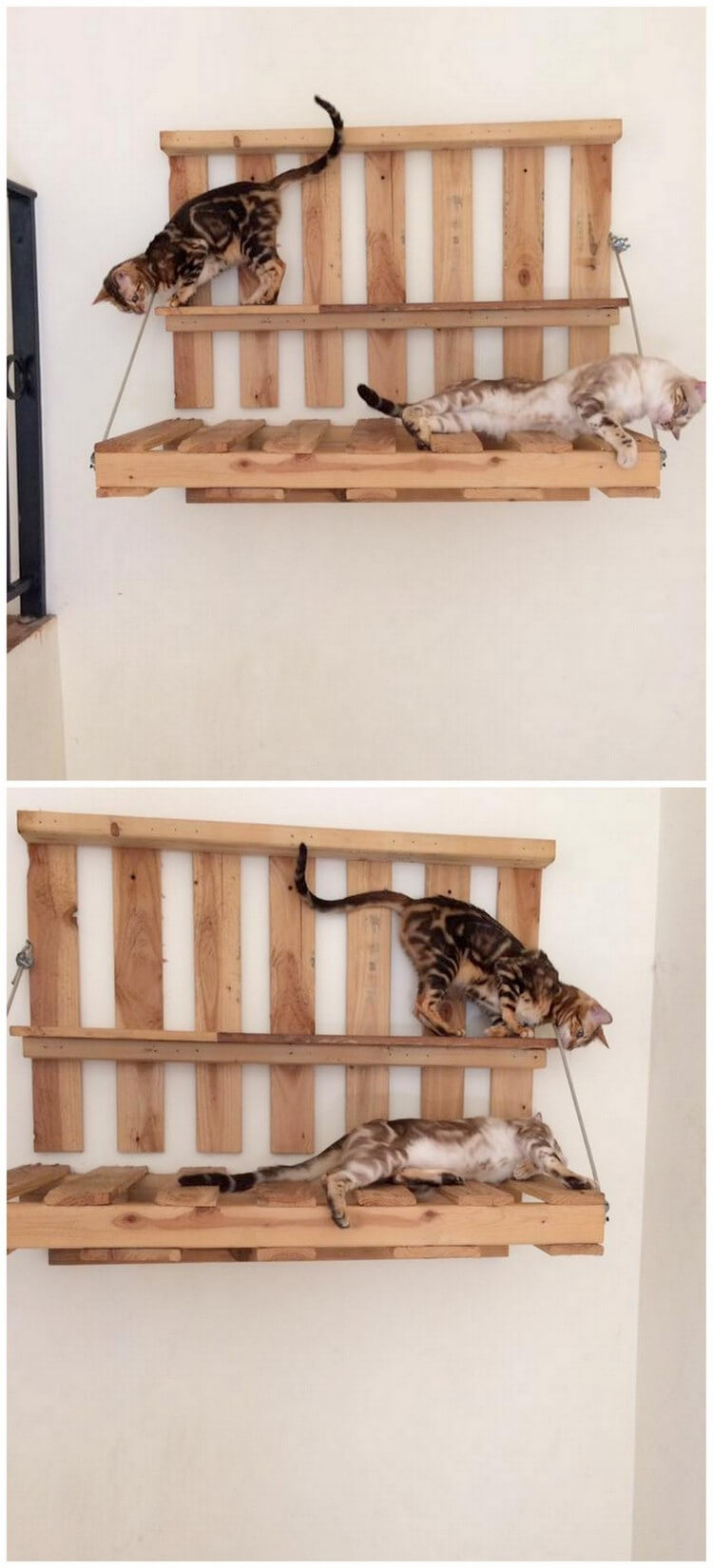 Pallet Dog and Cat Bed