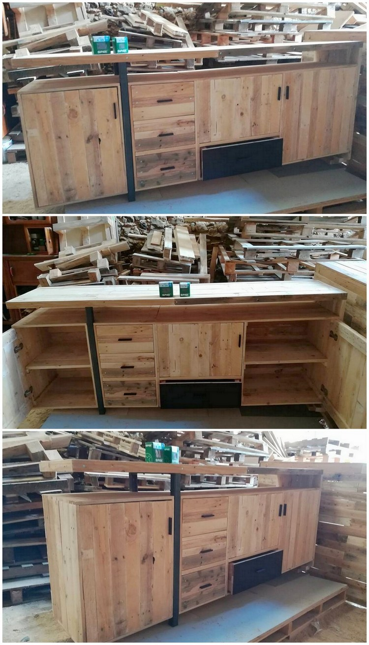 Pallet Kitchen Table