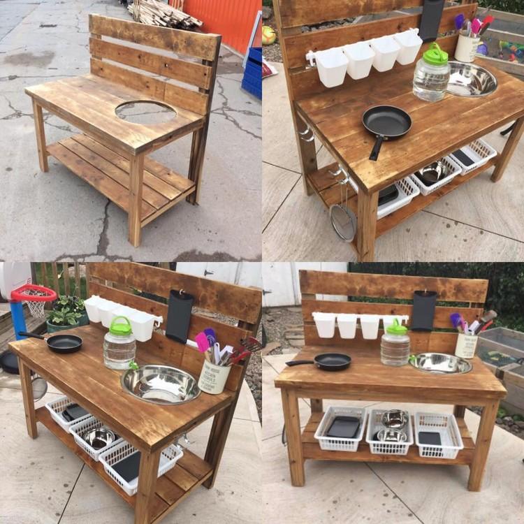 Pallet Mobile Kitchen