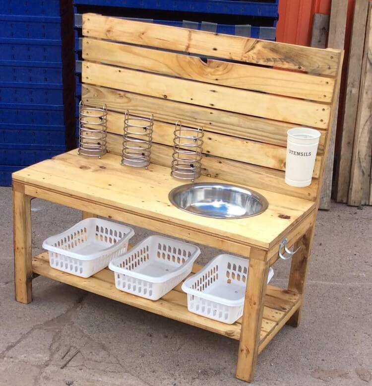 70 Awesomely Clever Ideas For Outdoor Kitchen Designs: Awesome DIY Ideas For Wood Pallets Repurposing