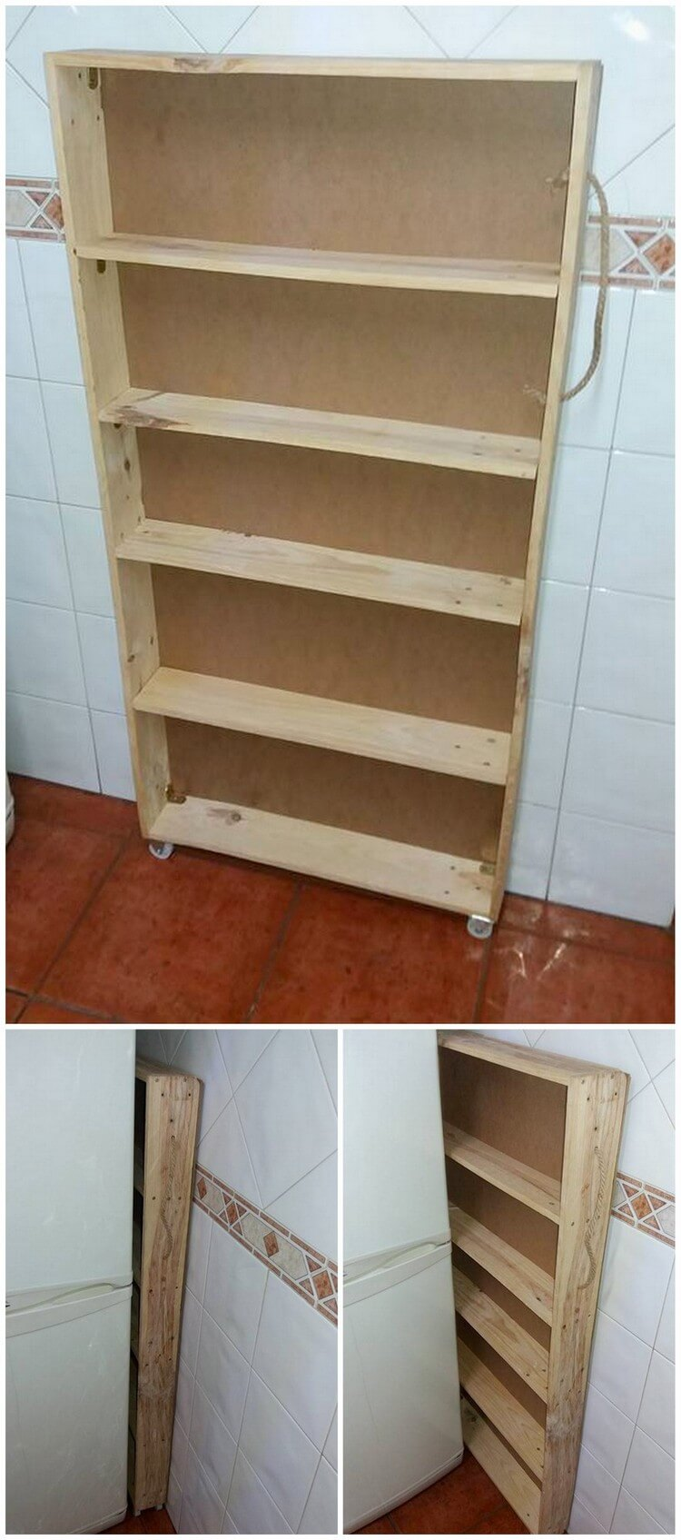 Pallet Side Shelf