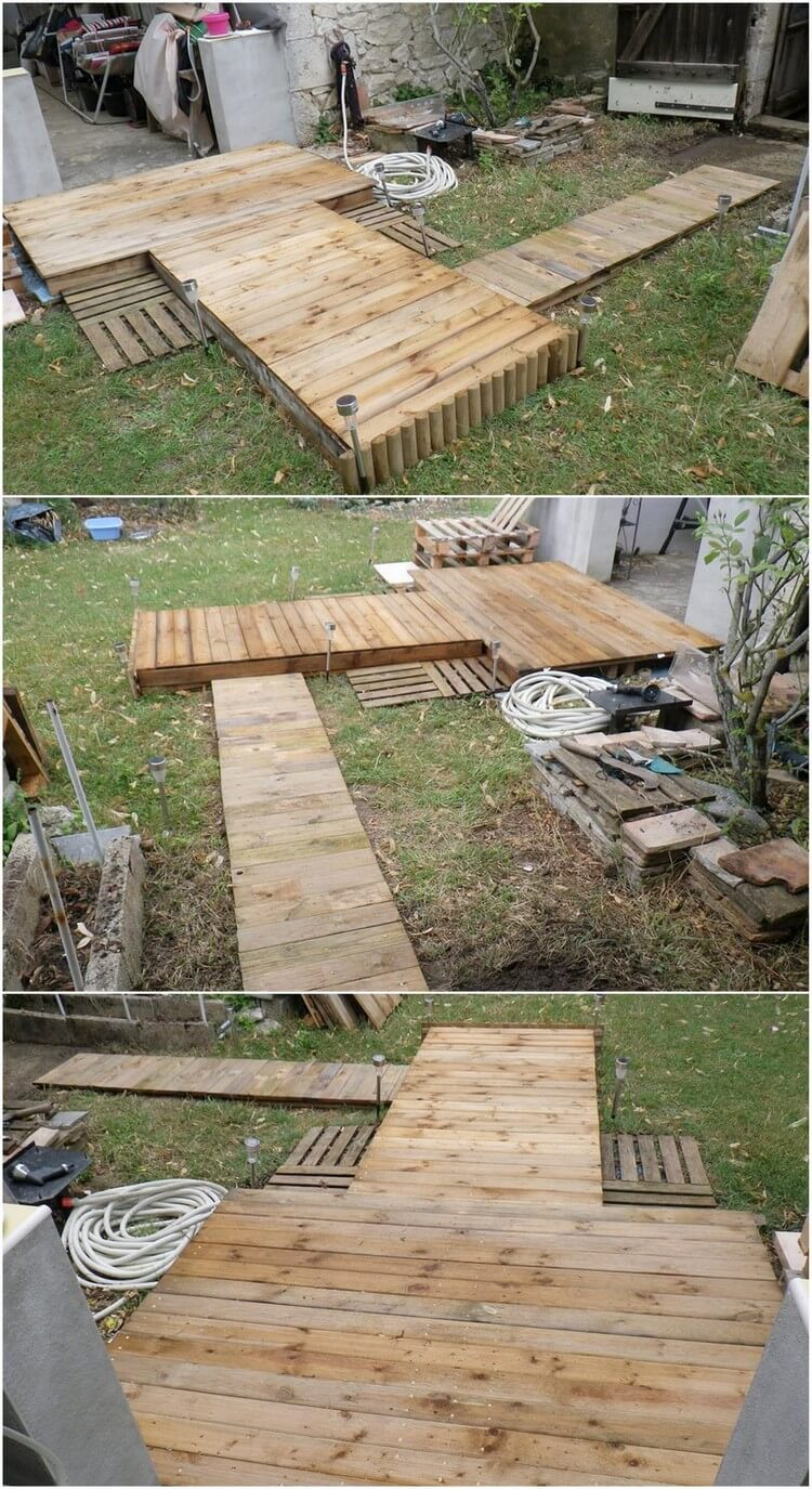 Diy Pallet Coffee Table With Wheels