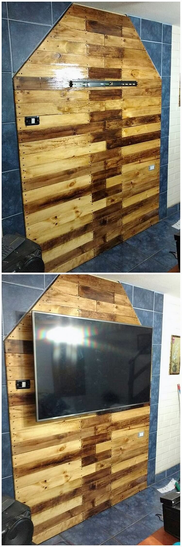 Pallet Wall Paneling : Excellent diy ideas with old shipping pallets pallet