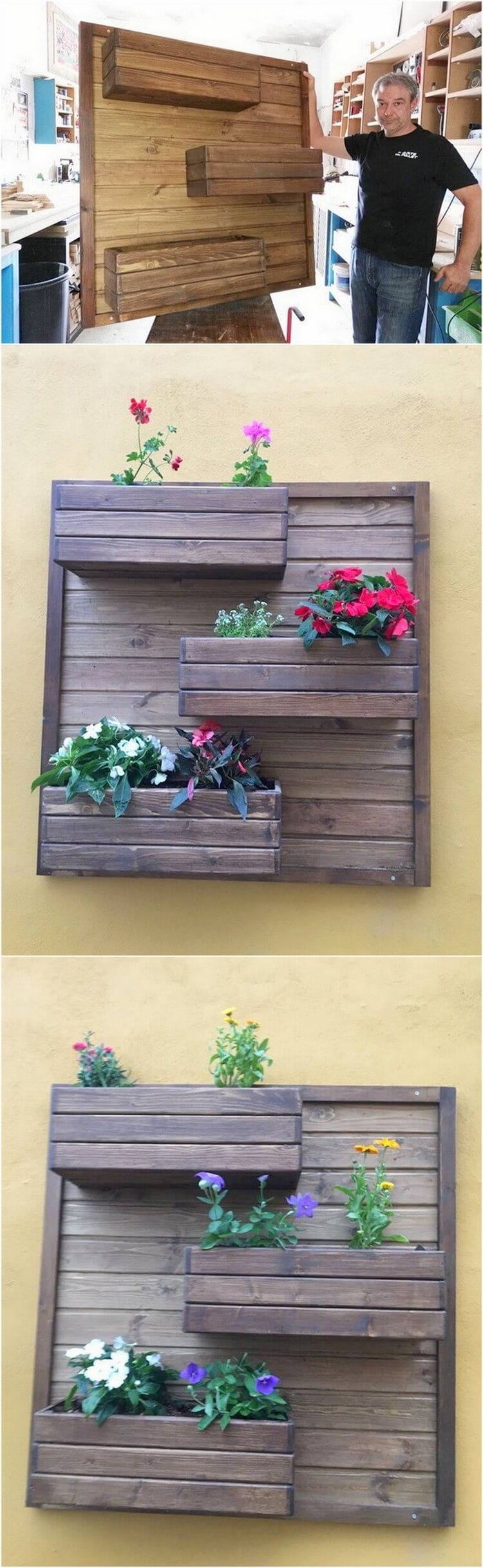 50 creative diy wood pallet ideas for this summer for Creative pallet