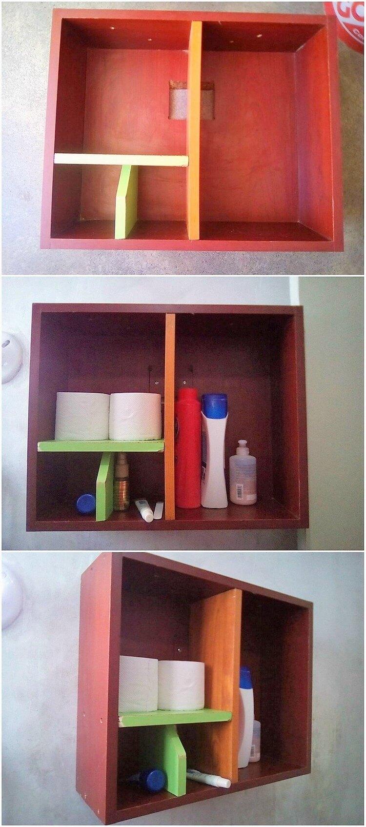 Pallet Wall Rack- Shelf
