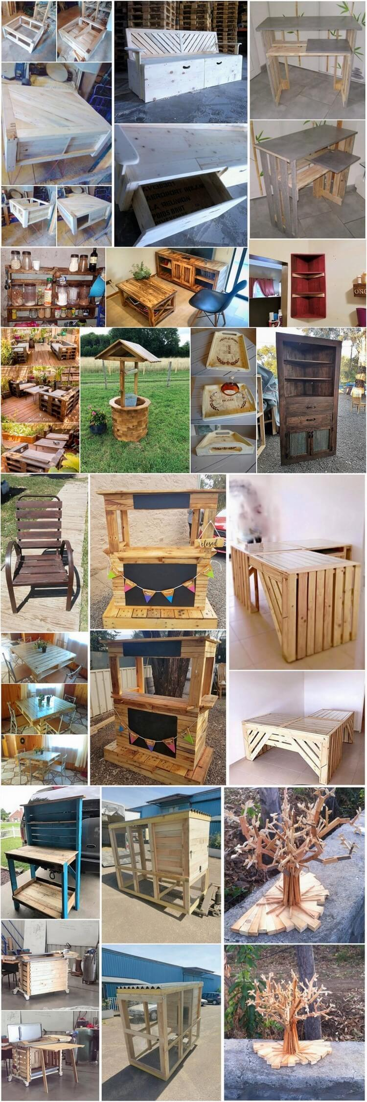 Surprising DIY Wood Pallet Ideas for this Summer