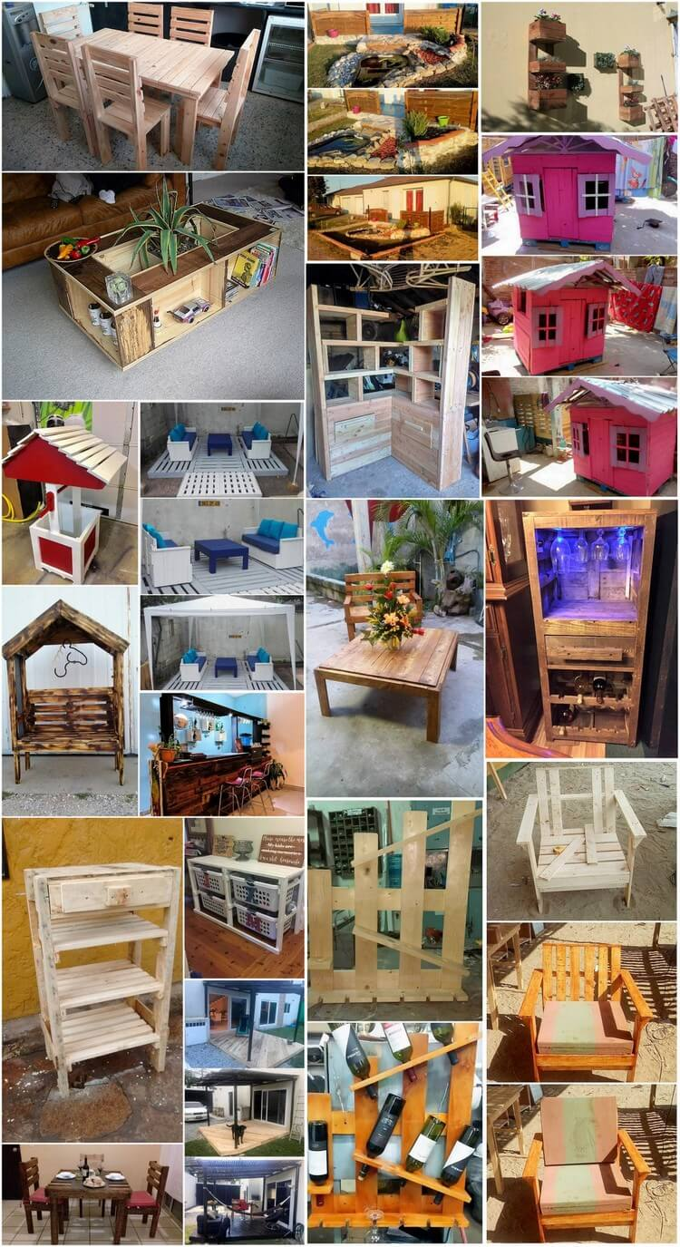 Transform Old Shipping Pallets into Something Unique