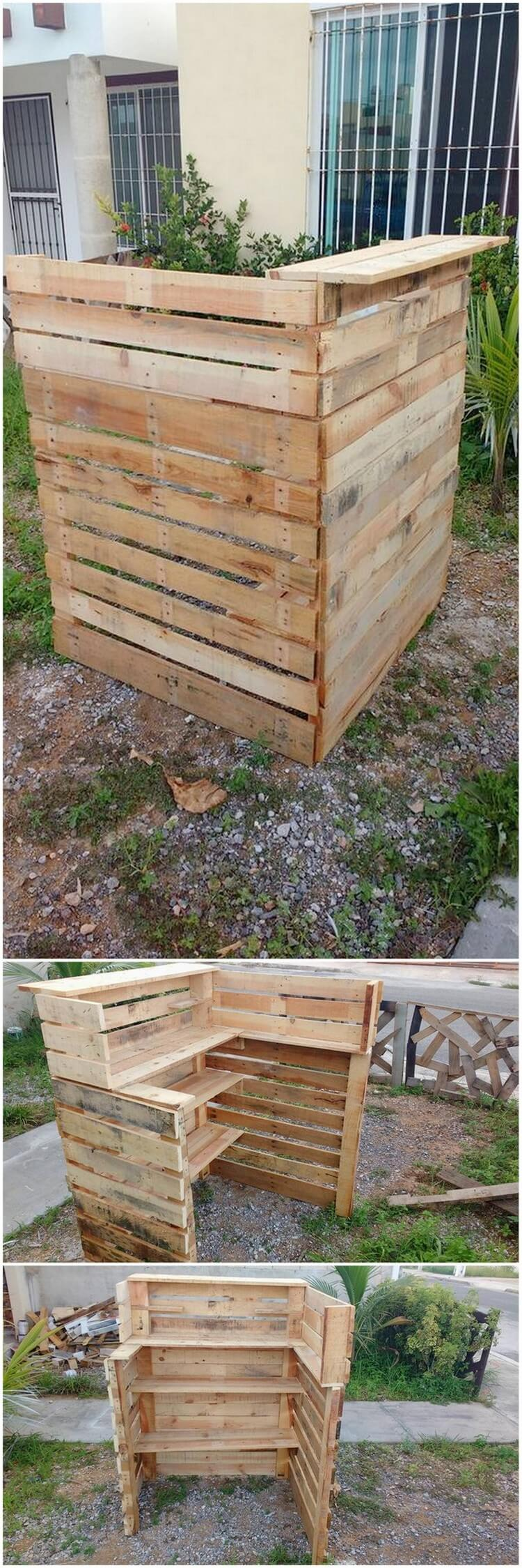 Amazing Creations with Reused Wooden Pallets | Pallet Wood ...