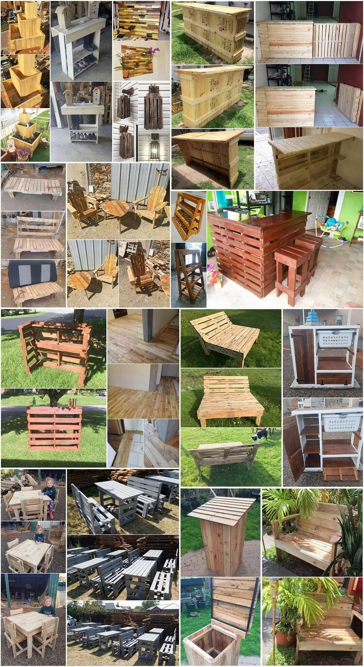 Charming Ideas with Used Shipping Wood Pallets