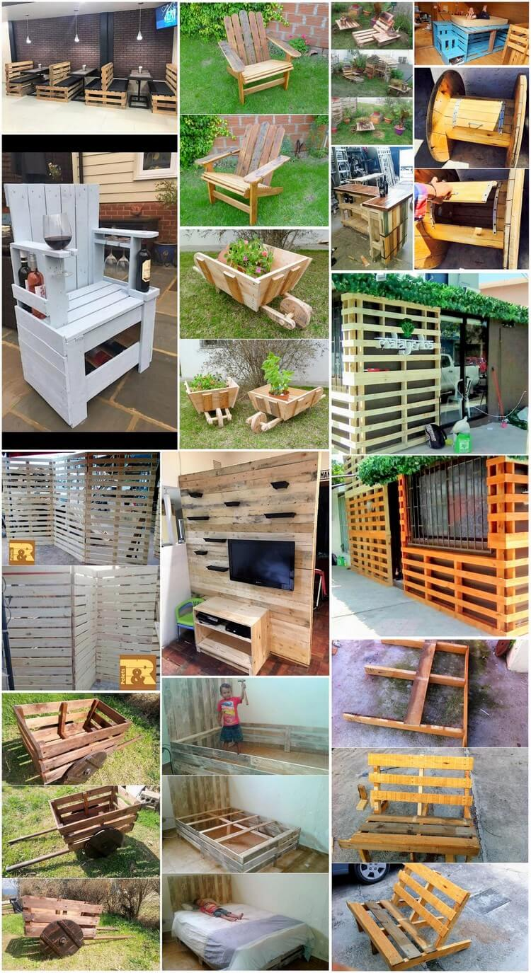 Cheap Creations with Old Shipping Wood Pallets