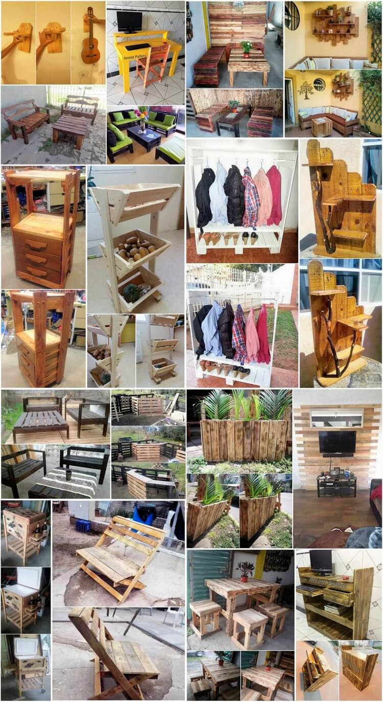 Creative Diy Projects With Wood Pallets You Can Easily