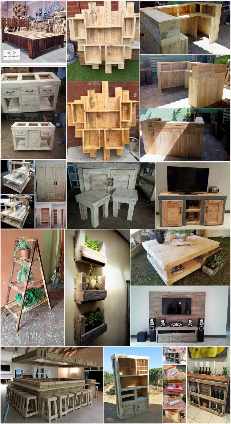 Creative wood pallet projects that everyone can afford for Creative pallet