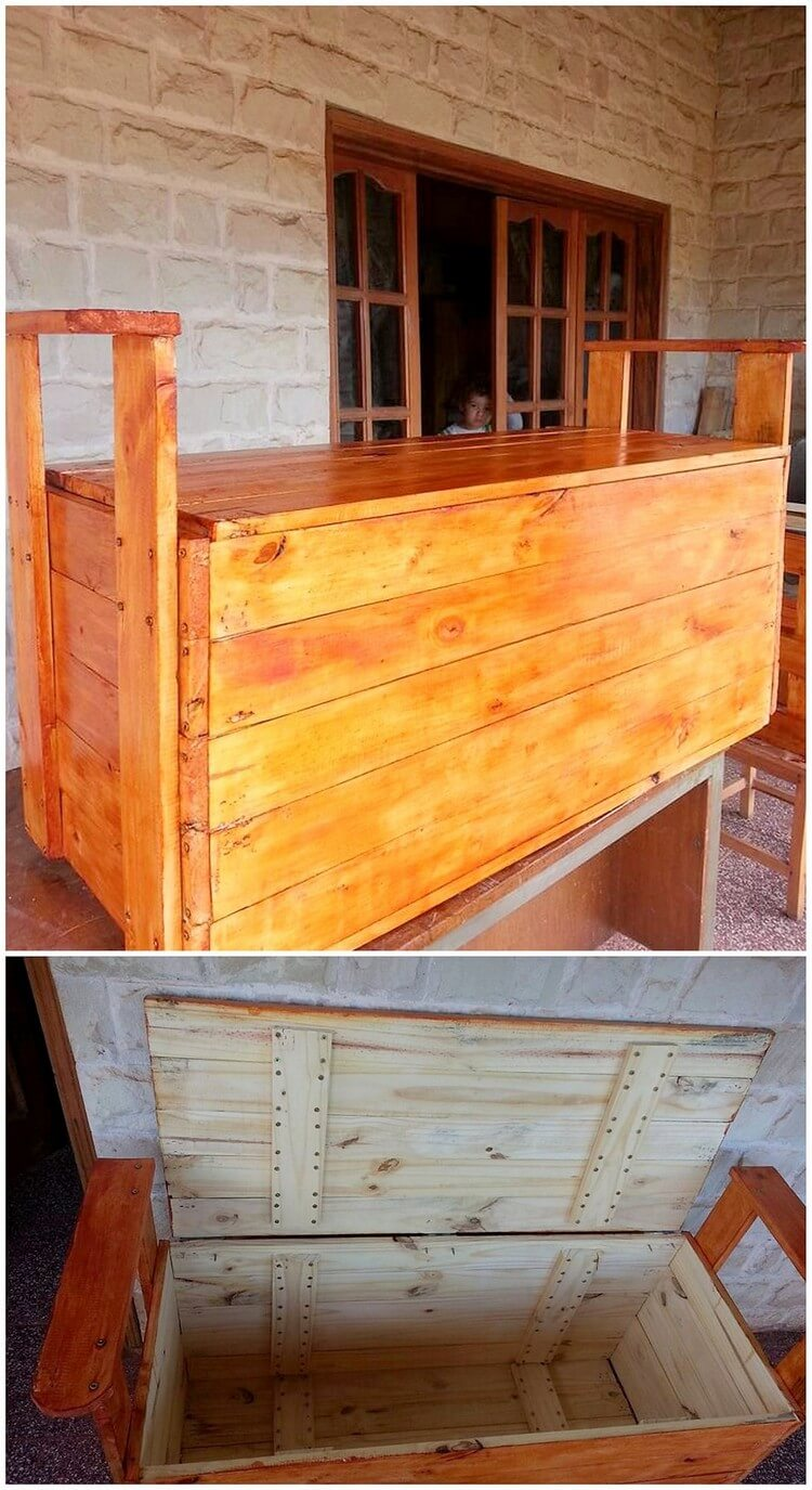Giant Pallet Storage Box
