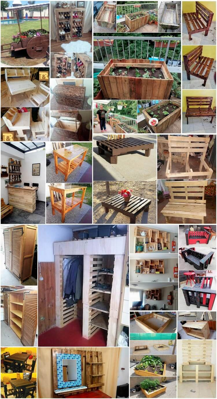 Outclass Shipping Wood Pallet Ideas for the Home