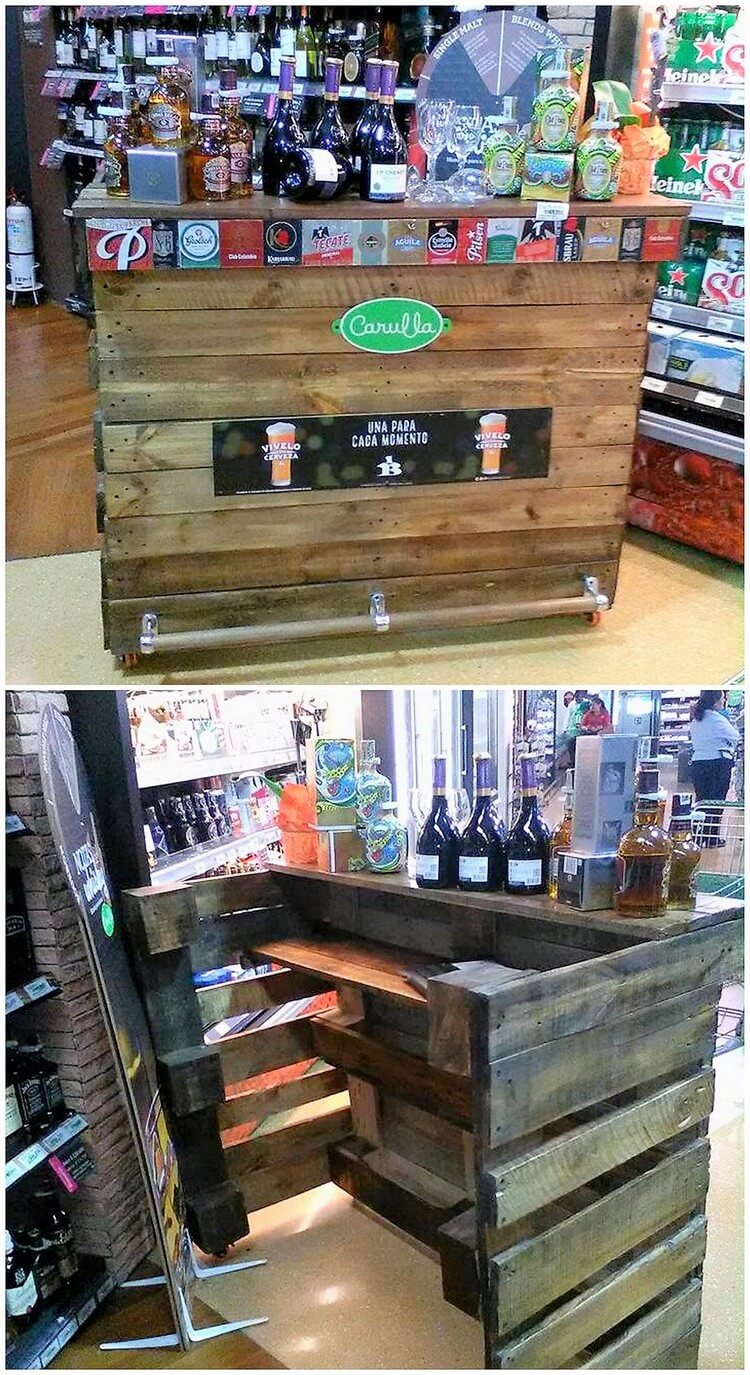 Creative Home Furnishings With Used Shipping Pallets