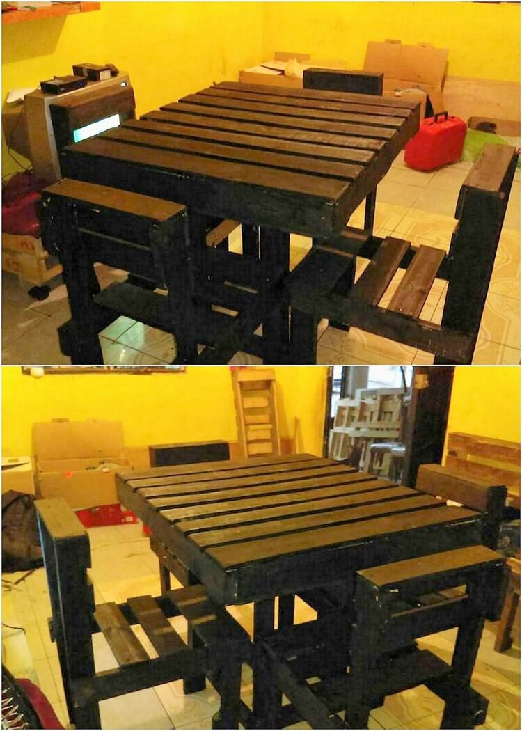 Pallet Dining Furniture Set