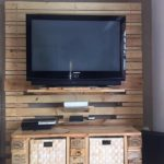 Pallet Entertainment Center Plan