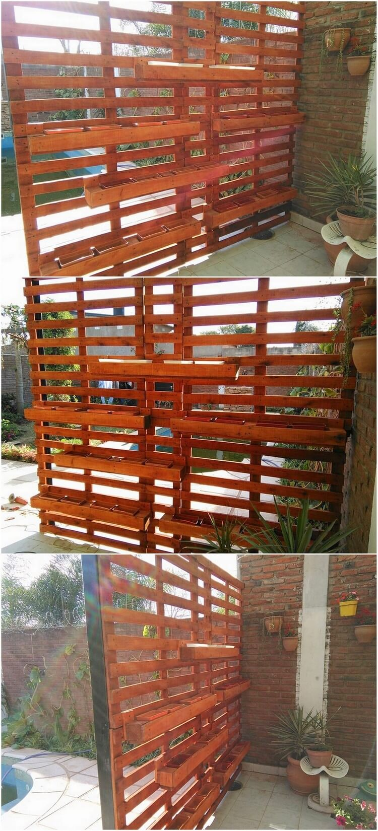 Outstanding projects with old shipping wood pallets for Wood pallet fence plans