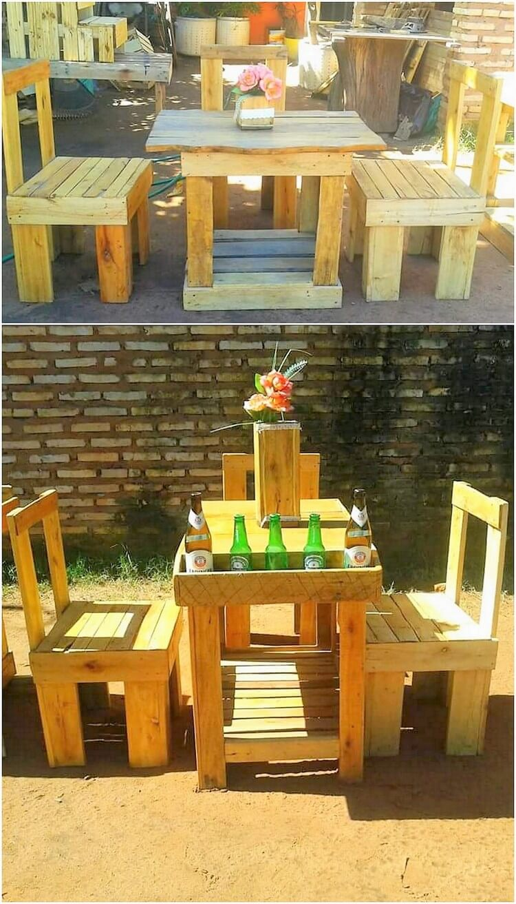 Pallet Furniture Set for Kids