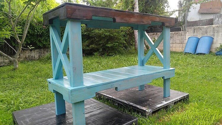 Pallet Laundry Room Table