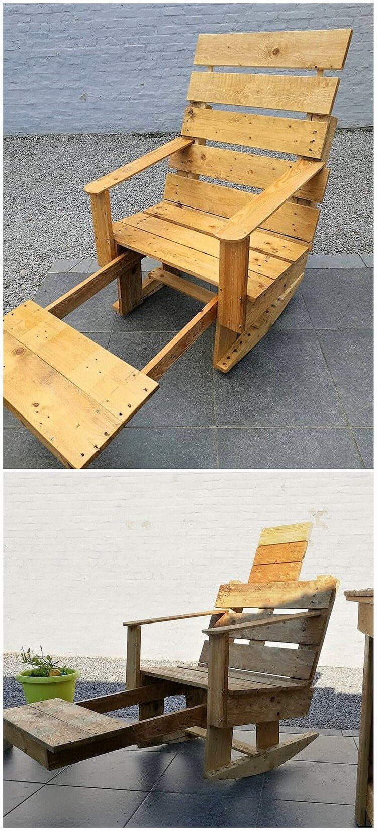 Pallet Rocking Chair