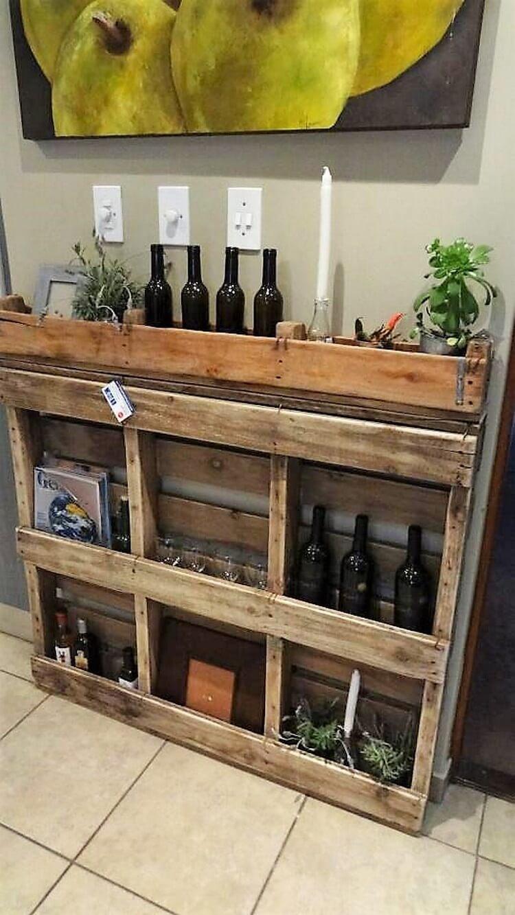 Pallet Storage Shelf