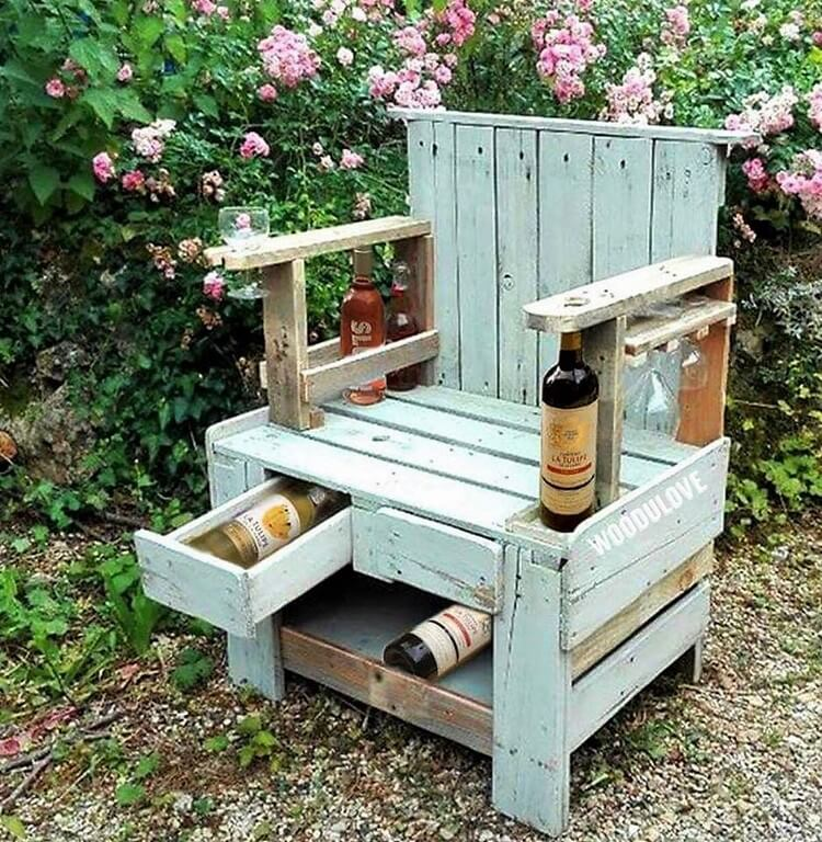 Pallet Summer Chair