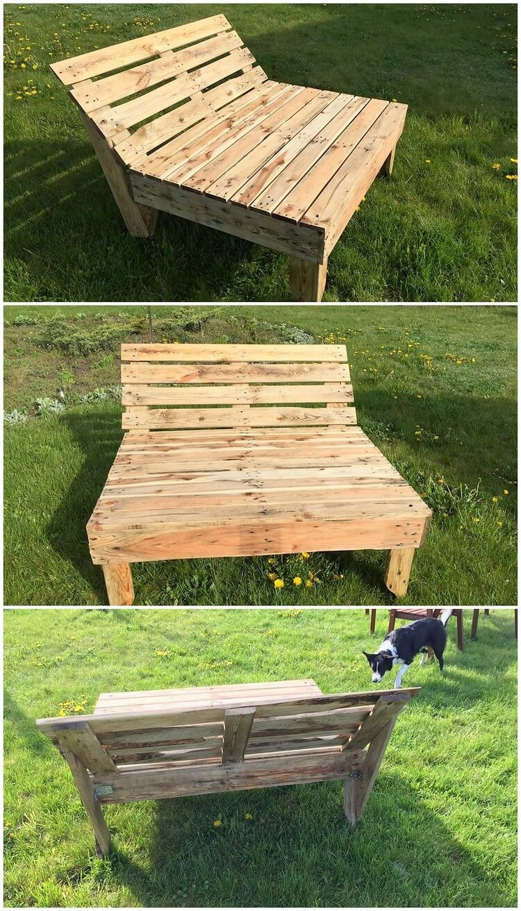 Pallet Sun Lounger or Daybed