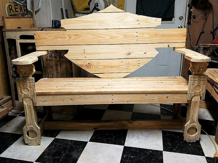 Amazing diy wooden pallet projects that will delight you Comeaux furniture