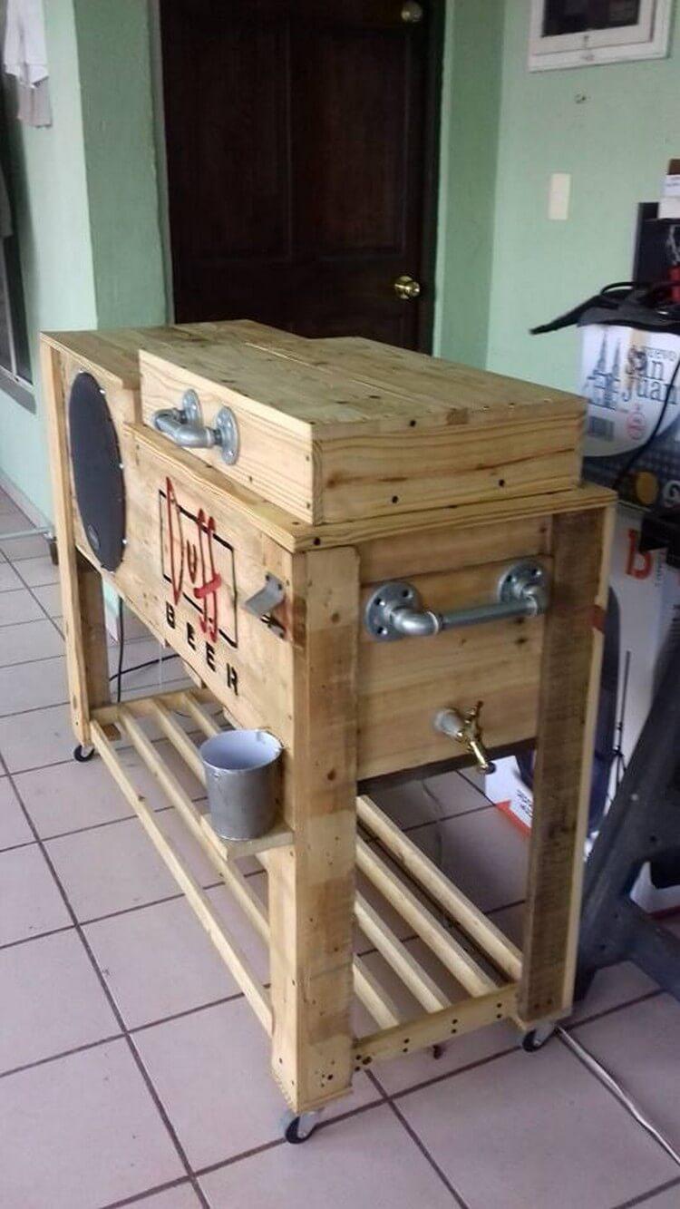 Wood Pallet Cooler