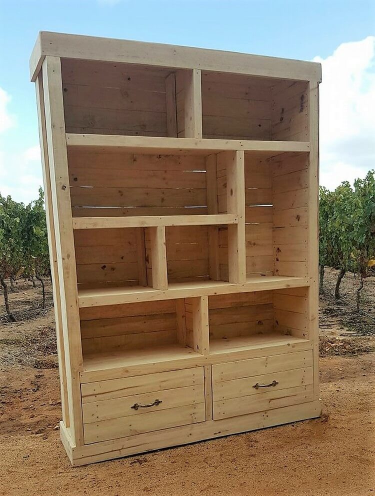 Wood Pallet Cupboard