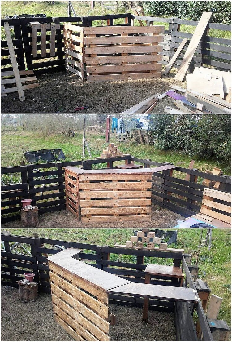 Creative DIY Projects with Wood Pallets, You Can Easily ...
