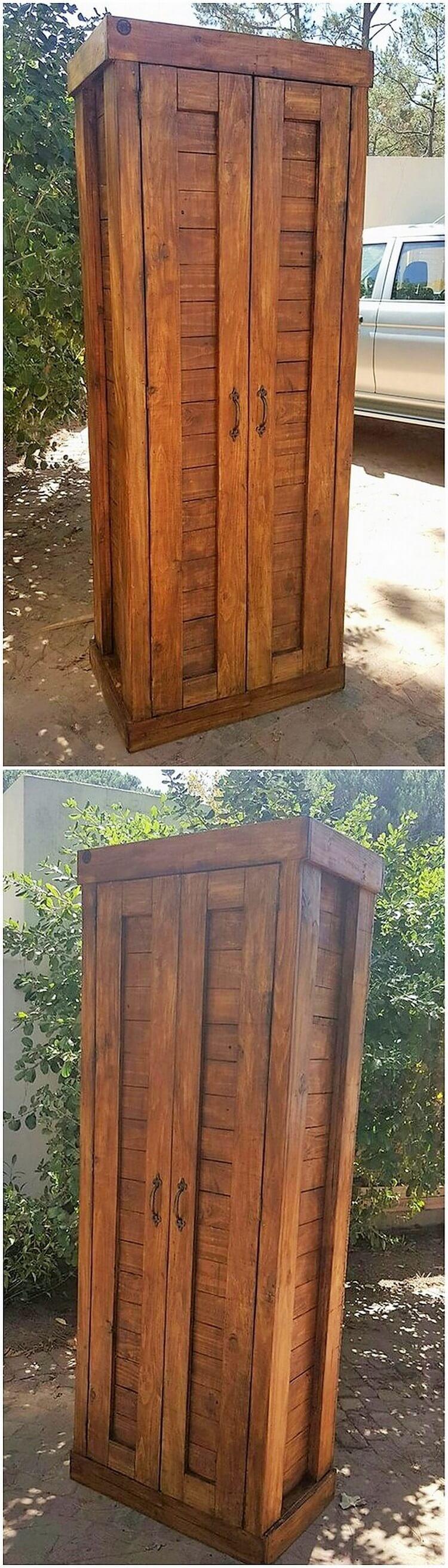Wood Pallet Warobe
