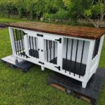 Wooden Pallet Dog Kennel