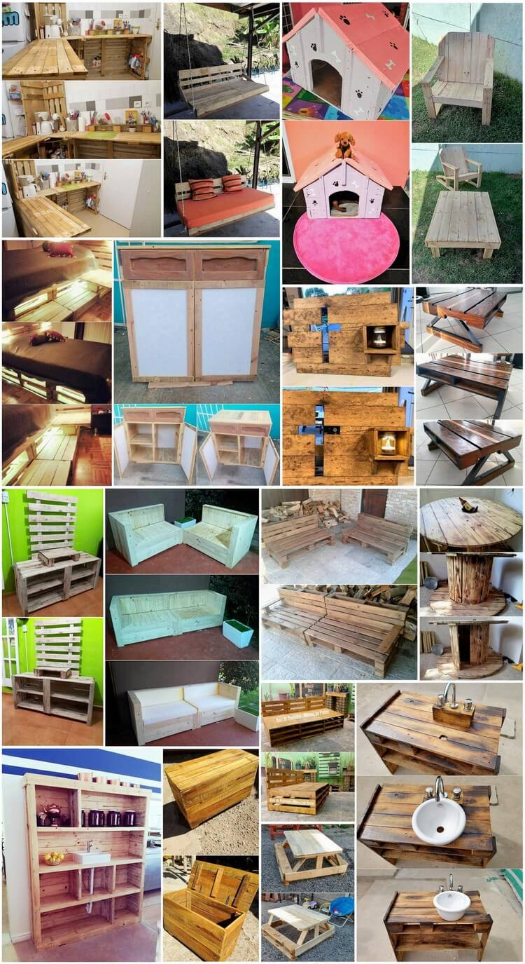 Amazing Shipping Wood Pallet Projects to Beautify Your Home