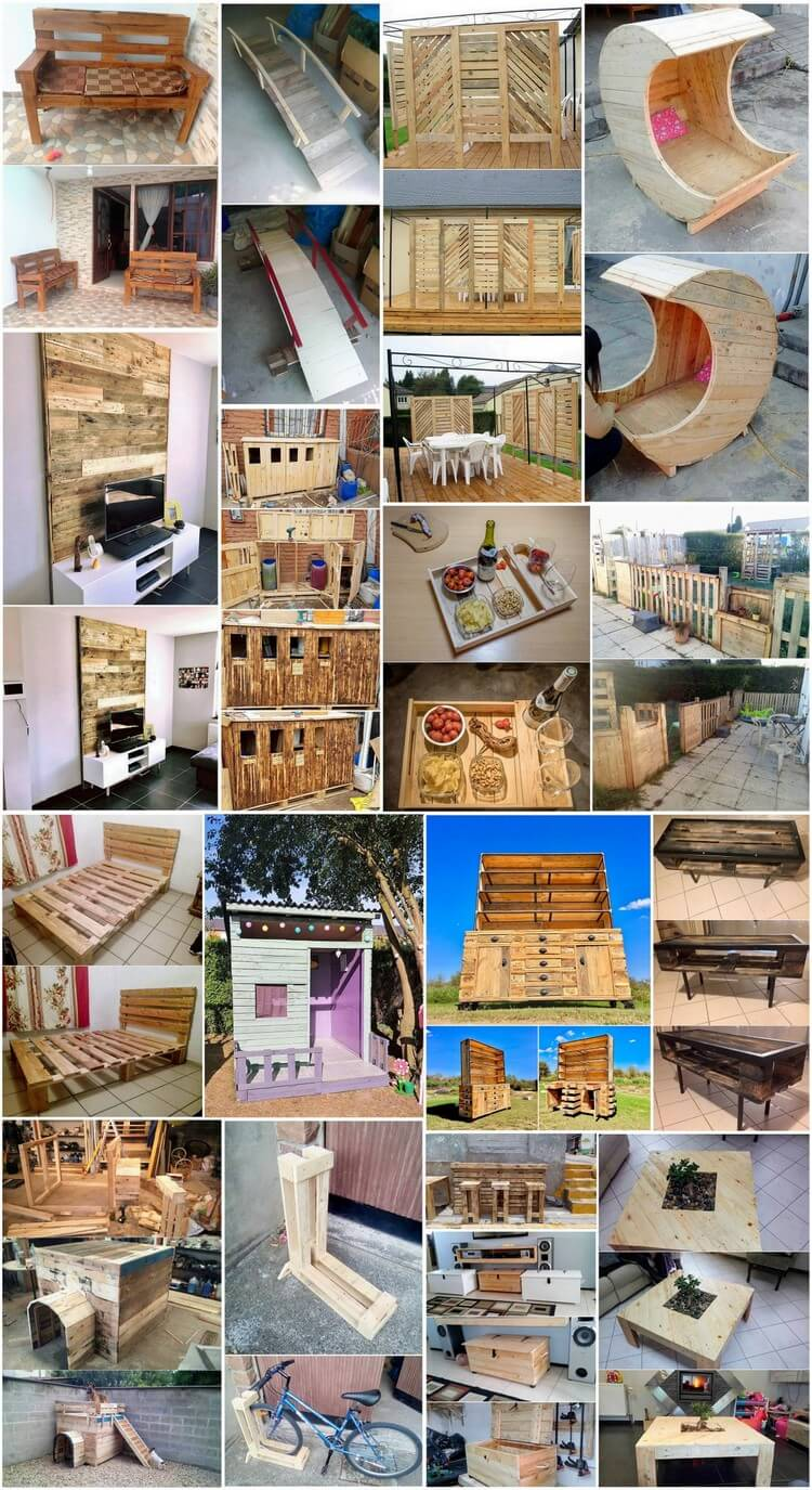 Awesome Ideas for Repurposing Old Shipping Pallets