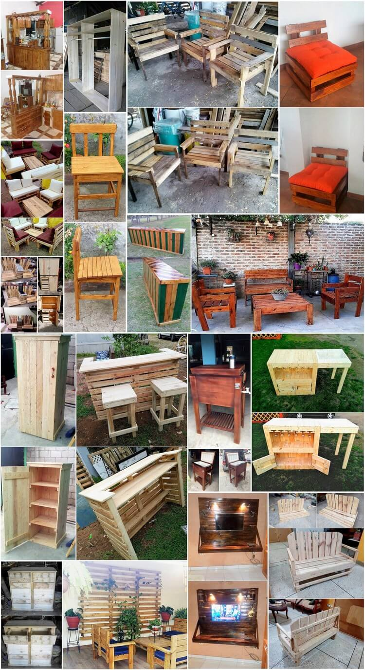 clever ways to reuse used wooden pallets pallet wood
