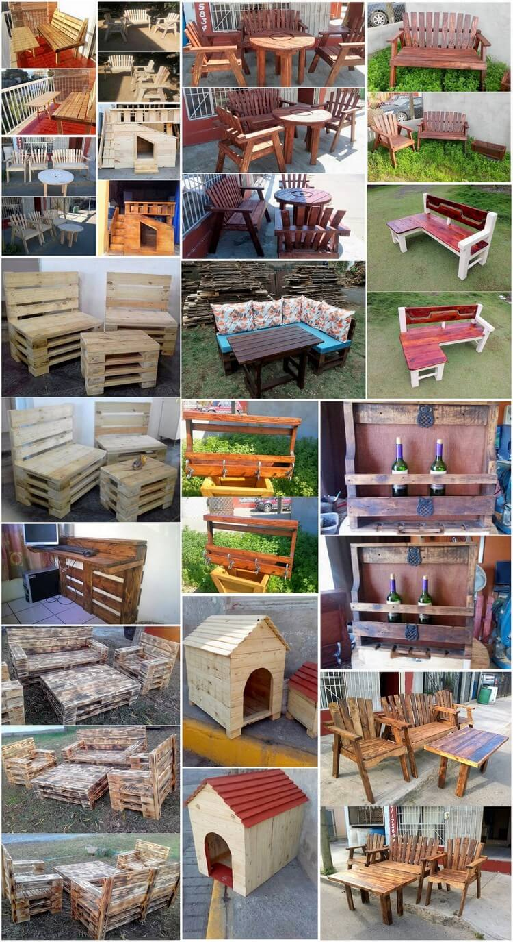 Creative DIY Wood Pallet Reusing Ideas