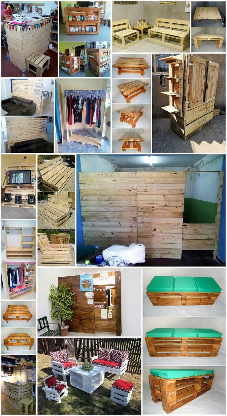 Creative Ideas to Give Wood Pallets Second Chance