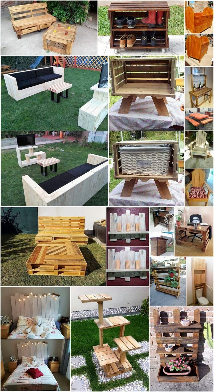 Do It Yourself Furniture: Creative Wood Pallet Projects You Can Do It Yourself