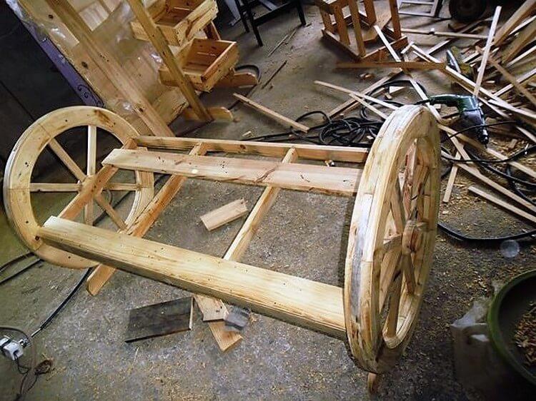 DIY Pallet Bench Plan