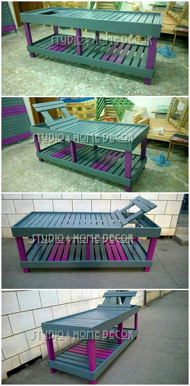 DIY Pallet Sun Lounger
