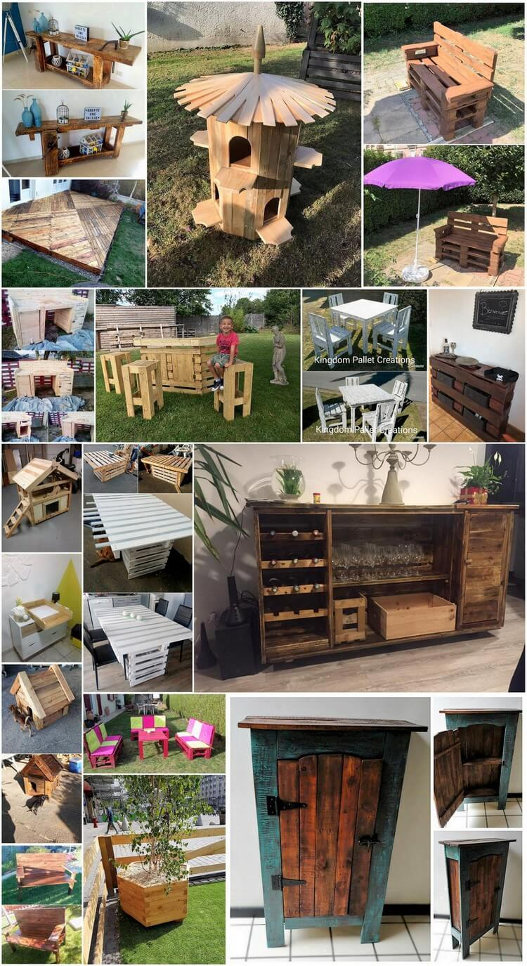 Genius Ideas to Reuse Old Shipping Wood Pallets