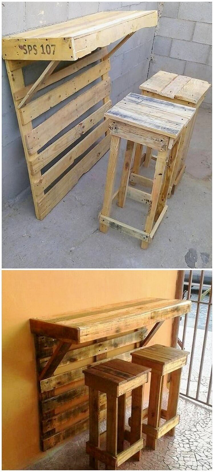 Creative diy shipping wood pallets repurposing ideas for Repurposed pallet projects