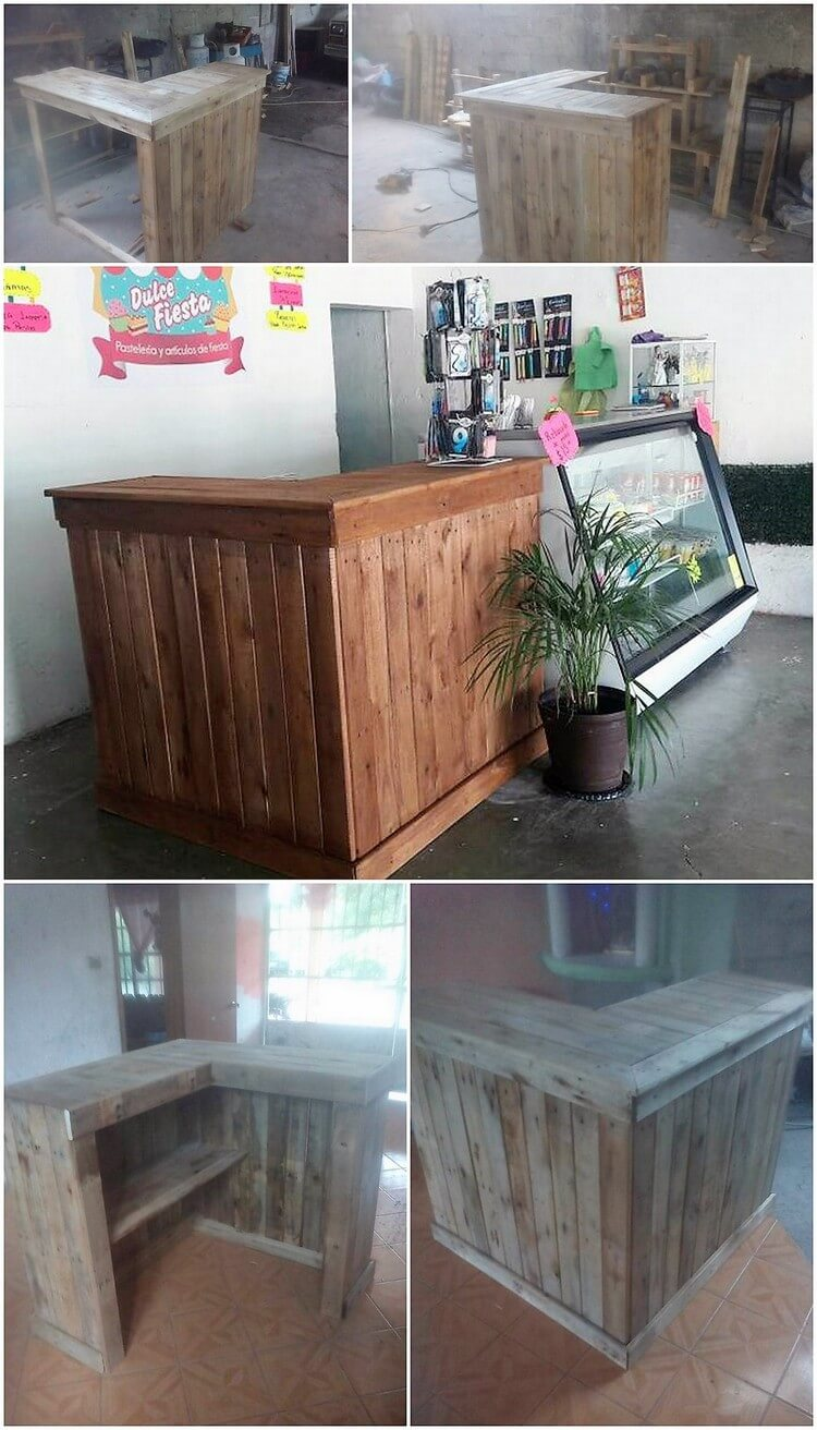 Pallet Counter or Bar Table